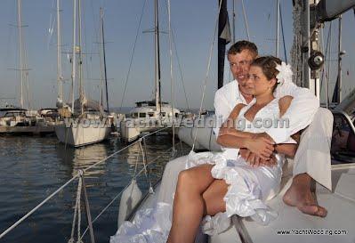 wedding in Croatia boat